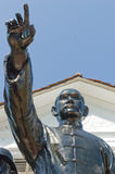 Sculpture de Sun Yat-sen photographie stock