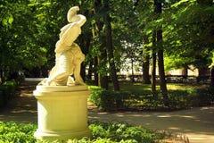 Sculpture de Tankred et de Klorynda à Varsovie, Pologne Photo libre de droits