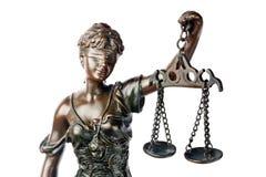 Sculpture de Themis Image libre de droits