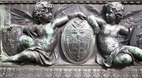 The sculpture Royalty Free Stock Photos