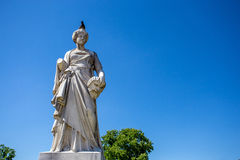 Sculpture depicting Comedy Royalty Free Stock Photos