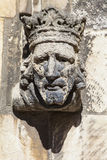 Sculpture Detail on St. Martin-Le-Grand in York Royalty Free Stock Photography