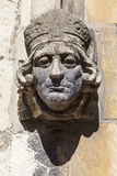 Sculpture Detail on St. Martin-Le-Grand in York Stock Image