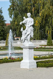 Sculpture of Diana goddess in Branicki garden Palace, Bialystok Stock Photography