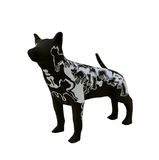 Sculpture dog. Made from paper mache Royalty Free Stock Images