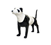 Sculpture dog be panting panda Royalty Free Stock Image