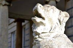Sculpture of a dog Stock Photos