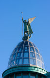 Sculpture on a dome Stock Photography