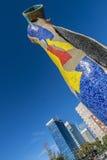 Sculpture Dona i Ocell, Barcelona Royalty Free Stock Photo