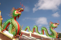 Sculpture of dragon Royalty Free Stock Image