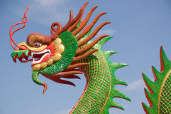 Sculpture Dragon Stock Photo