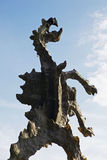 Sculpture the Dragon of Wawel in Krakow. Poland, Europe Royalty Free Stock Photo