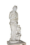 Sculpture of a draped woman and child Royalty Free Stock Image