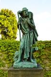 Sculpture du bon berger Photo libre de droits