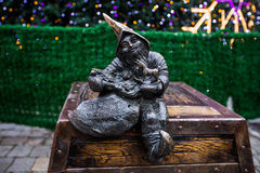 Sculpture of dwarfs Royalty Free Stock Images