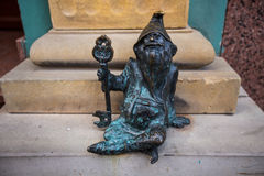 Sculpture of dwarfs Stock Images