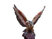 Sculpture of eagle Royalty Free Stock Photo