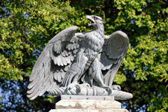 Sculpture of eagle Stock Photo