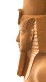 Sculpture Egyptian pharaoh Royalty Free Stock Photography