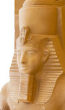 Sculpture Egyptian pharaoh Royalty Free Stock Photo