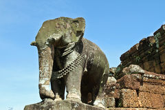 Sculpture of elephant Stock Photo