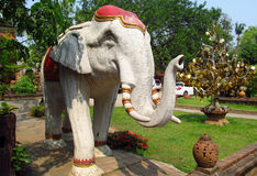 Sculpture of an elephant Stock Images