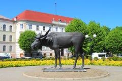Sculpture Elk Stock Photography