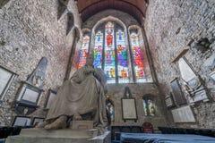 Sculpture en évêque John Jebb Photographie stock libre de droits