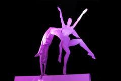 Sculpture en acier Photographie stock