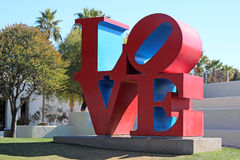 Sculpture en amour, vieille ville Scottsdale, Arizona Photos stock