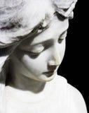 Sculpture en ange Image stock