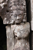 Sculpture en Angkor Vat Images stock