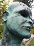 Sculpture en art Photographie stock