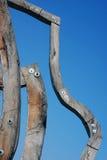 Sculpture en bois Photo libre de droits