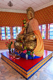 Sculpture en Bouddha à un temple indou Photos stock