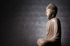 Sculpture en Bouddha Image stock