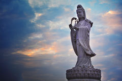 Sculpture en Bouddha Photo stock
