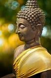 Sculpture en Bouddha en Thaïlande Images libres de droits