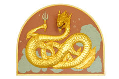 Sculpture en dragon Images libres de droits