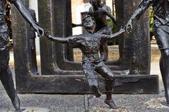 Sculpture en enfants - parc de survivants de Cancer de Bloch Photo libre de droits