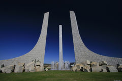 sculpture en Europe Portugal de braganza urbaine Image stock