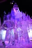 Sculpture en glace Bruges 2013 - 05 Photos libres de droits