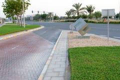 Sculpture en granit, bord de la route Photos stock