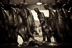 Sculpture en holocauste photos stock