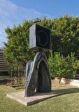 Sculpture en jardin de musée de Miro Images libres de droits