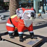 Sculpture en koala dans le paradis de surfers, Australie Image libre de droits