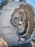 Sculpture en lac Tahoe de baquet chaud, les Rois Beach Image libre de droits