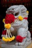 Sculpture en lion de la Chine Image libre de droits