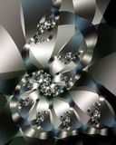 Sculpture en métal Image libre de droits