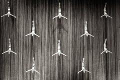 Sculpture en métal du plongeur mâle, Photo libre de droits